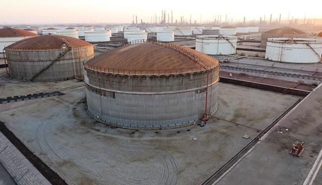 شرکت مهندسی ساختمان و نصب صنایع پتروشیمی ECC در پالایشگاه نفت بندرعباس