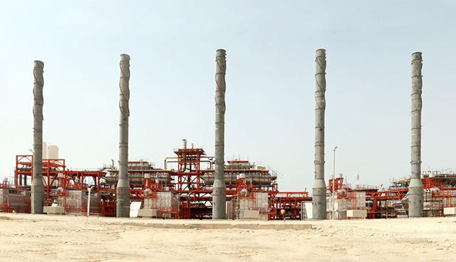 شرکت سازه مساحی در پروژه طرح توسعه خط لوله و مخازن ذخیره گاز عسلویه (کارفرما شرکت POGC